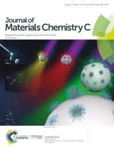 Journal of Materials Chemistry C Cover