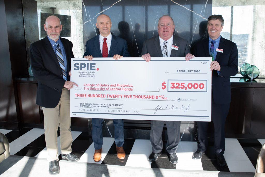 SPIE-Glebov Family Optics and Photonics Graduate Scholarship Fund